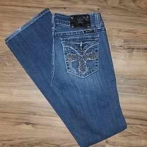 Miss Me,   Bling Cross pocket jeans